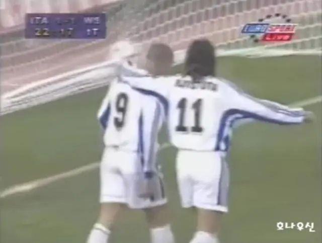 当对面锋线是罗纳尔多+巴蒂,会有多绝望? 第5张