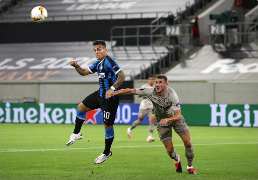 【欧联杯】国米5比0横扫黑马强势晋级决赛 第2张